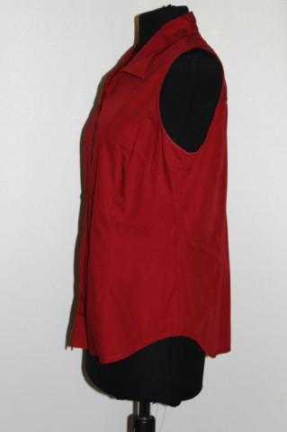 Camasa rosu inchis repro anii '70