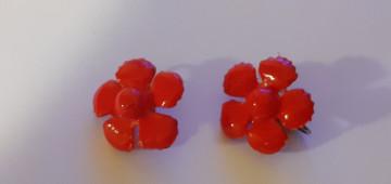 Cercei floare corai anii 50