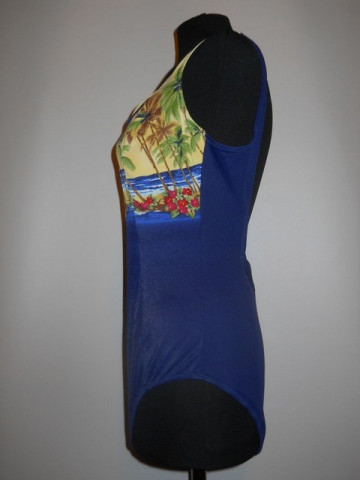 Costum de baie stil hawaian anii '60