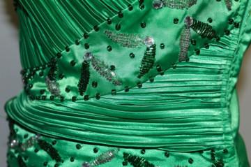 Deux pieces de ocazie verde repro anii '80
