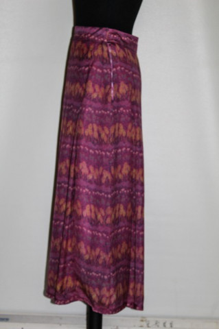 Fusta violet spice de grau anii '60