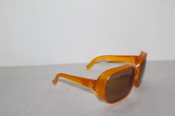 Ochelari de soare vintage portocalii anii '60