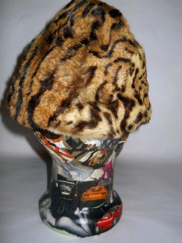 Palarie din blana de Geoffroy's Cat anii '50