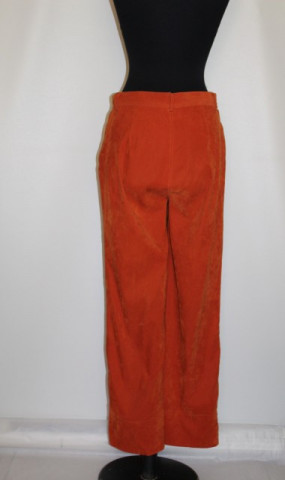 Pantaloni portocaliu Tia Maria anii '80