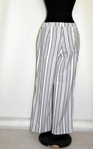 Pantaloni retro dungi verticale anii '80