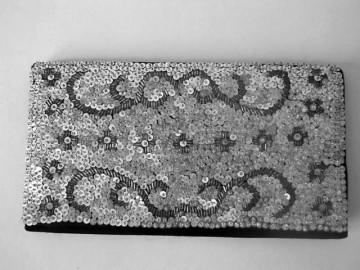 Plic vintage paiete argintii anii '40