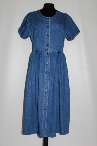 """Rochie din jeans """"Kettle Creek"""" anii '80"""