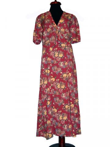 Rochie in stilul anilor '30 vintage anii '70