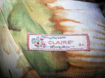 "Rochie retro ""Claire"" anii '80"