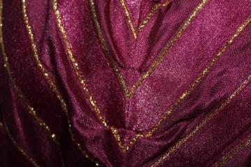 Rochie visinie dungi aurii anii '70