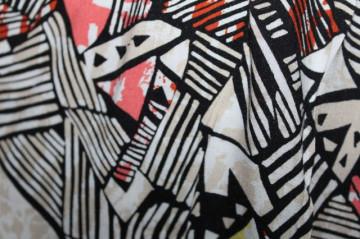 Salopeta print geometric repro anii '70