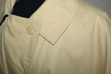 "Trench retro 'Herluf Design"" anii '80"