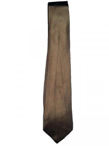"Cravata vintage maro ""Paco Rabanne"" anii '60"