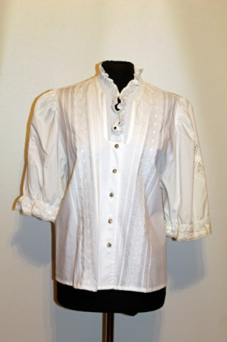 Camasa retro stil tirolez anii '80