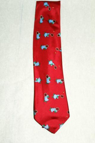 Cravata print Pasarea Dodo anii '90
