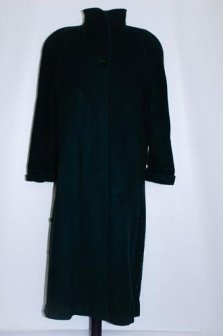 Palton retro verde inchis anii '80