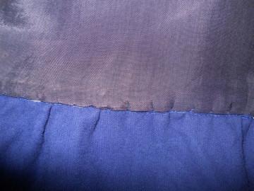 Bluza din catifea albastra anii '20
