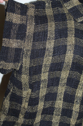 Bluză Masai carouri anii 90