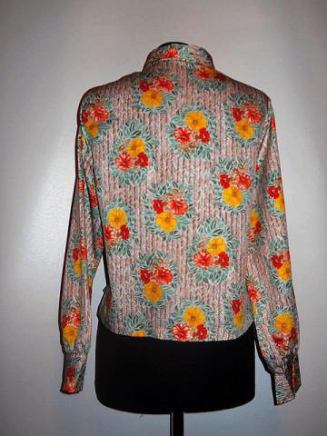 Camasa flori colorate anii '70