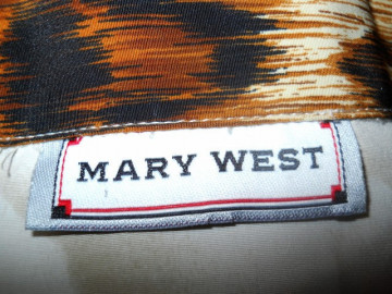 "Camasa retro ""Mary West"" anii '80"