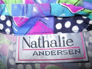 "Camasa retro ""Nathalie Andersen"" anii '80"