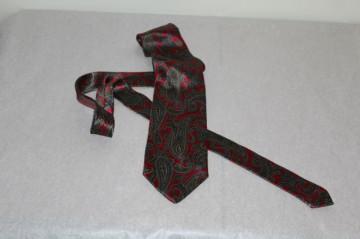 """Cravata print paisley """"Luca Franzini"""" anii '70"""