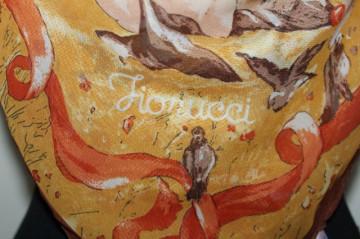 "Esarfa print ingerasi ""Fiorucci"""