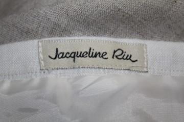 "Fusta bicolora ""Jacqueline Riu"" anii '90"