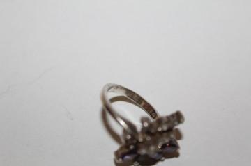 Inel cristale și ametist anii 70