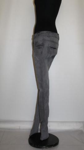 Jeans gri slim cut