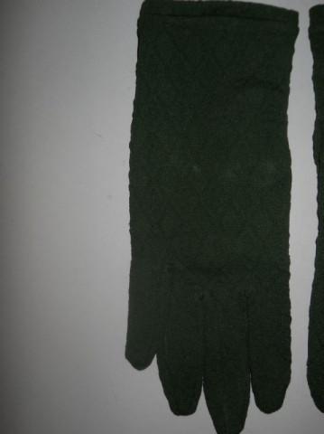Manusi vintage verde muschi anii '60