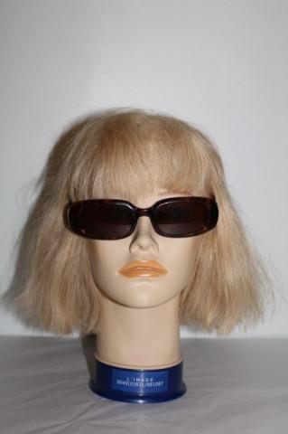 Ochelari de soare dreptunghiulari animal print anii '80