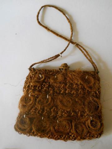 Poseta estiva din fibre de cocos anii '30