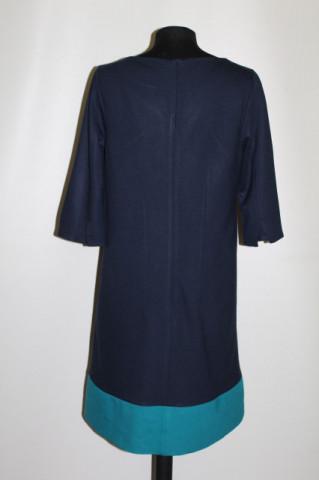 Rochie bicolora din jerse repro anii '60