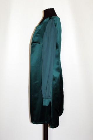 Rochie de ocazie verde palmier anii '60