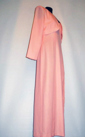 Rochie de seara din crepe frez anii '90
