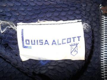 """Rochie """"Louisa Alcott""""  vintage anii '40"""