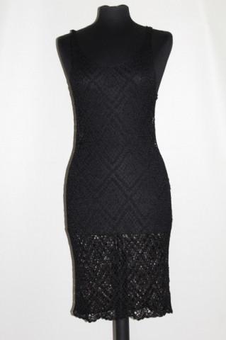 Rochie / overdress negru anii '90