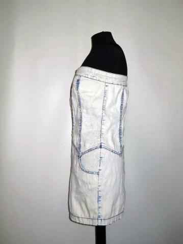Rochie retro jeans anii '90