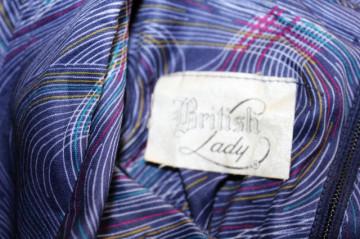 """Rochie vintage """"British Lady"""" anii '70"""