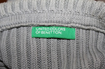 "Vesta ""United Colors of Benetton"" anii '90"