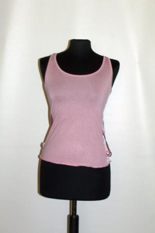 Tricou roz antic anii 90