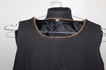 Bluză din catifea reiată anii 70