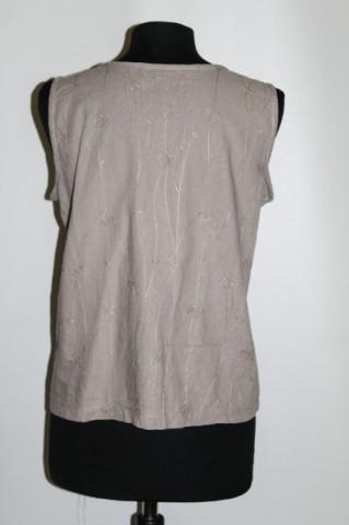 Bluza din in brodat anii '90