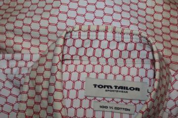 Cămașă bărbătească print fagure Tom Tailor