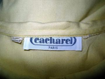 "Camasa galbena ""Cacharel"" anii '70"