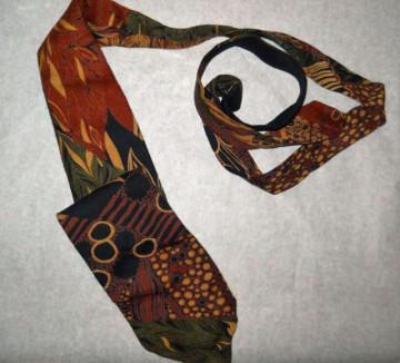 "Cravata vintage ""Havana Fashion"" anii '70 - '80"