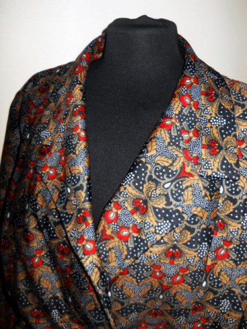 Deux pieces vintage paisley anii '70