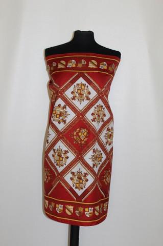Esarfa model heraldic anii '70