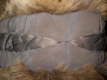 Etola din blana de vulpe maro anii '20